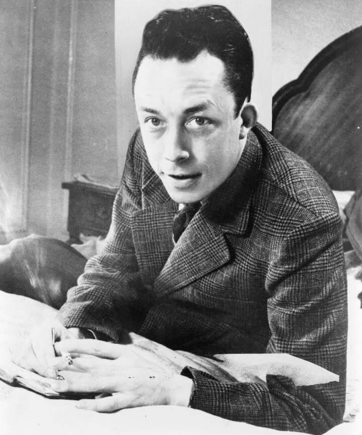 comment écrire une chanson : Albert Camus
