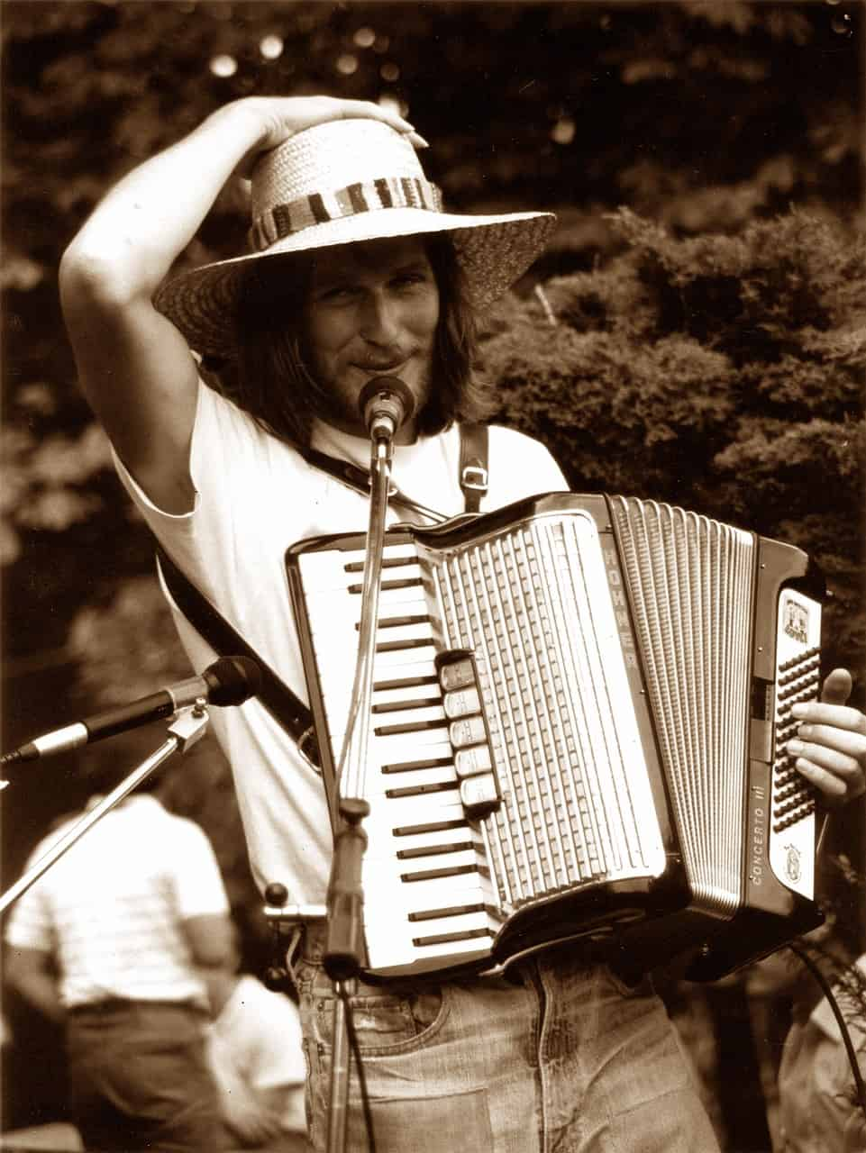 Un accordéoniste