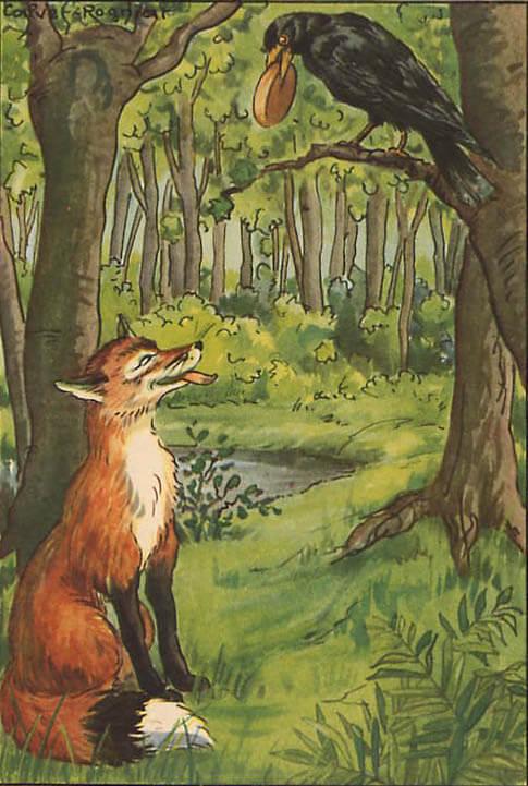 Comment apprendre des paroles de chanson : le corbeau et le renard